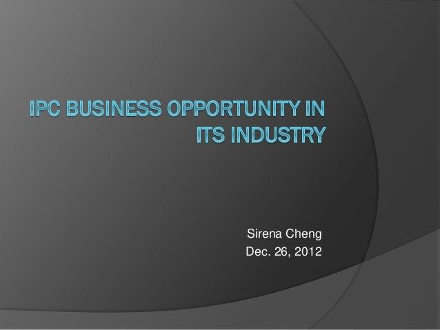 Sirena Cheng Dec. 26, 2012