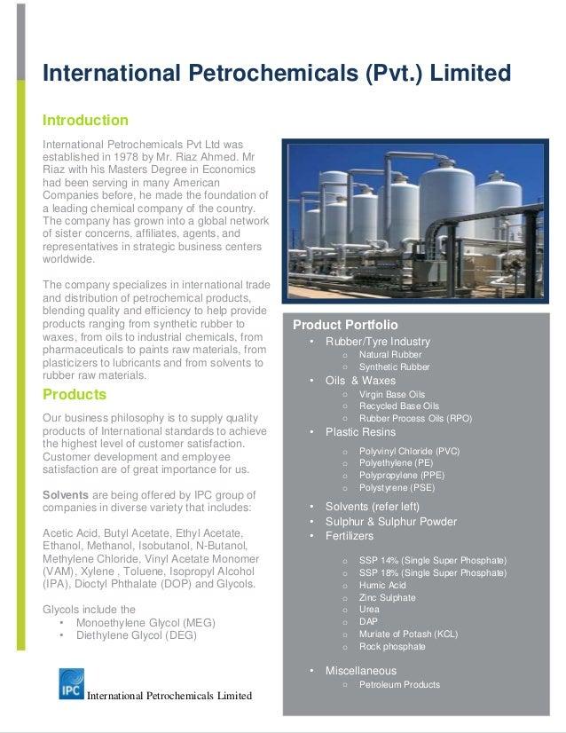International Petrochemicals Pvt Ltd Flyer 2
