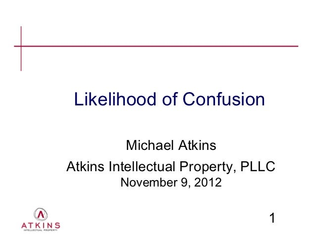 Ip core presentation   likelihood of confusion