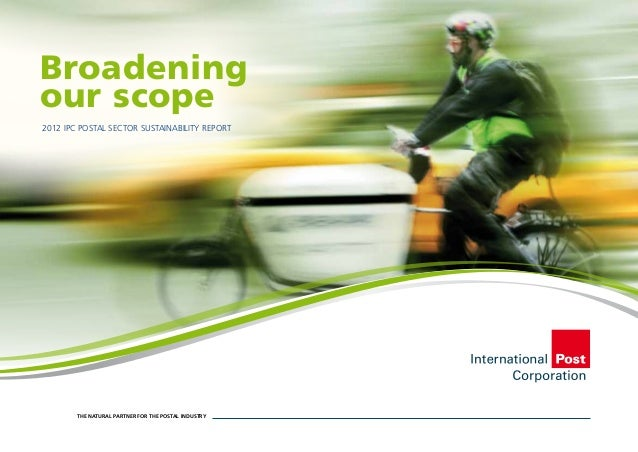 IPC Postal Sector Sustainability Report 2012