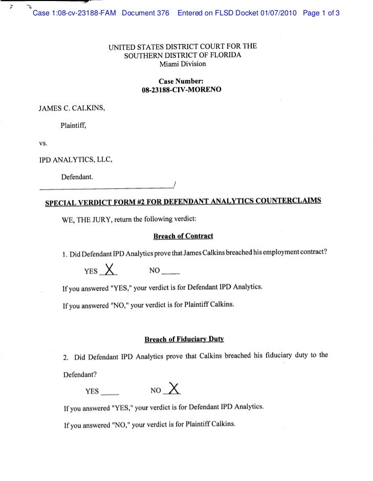 Case 1:08-cv-23188-FAM Document 376   Entered on FLSD Docket 01/07/2010 Page 1 of 3