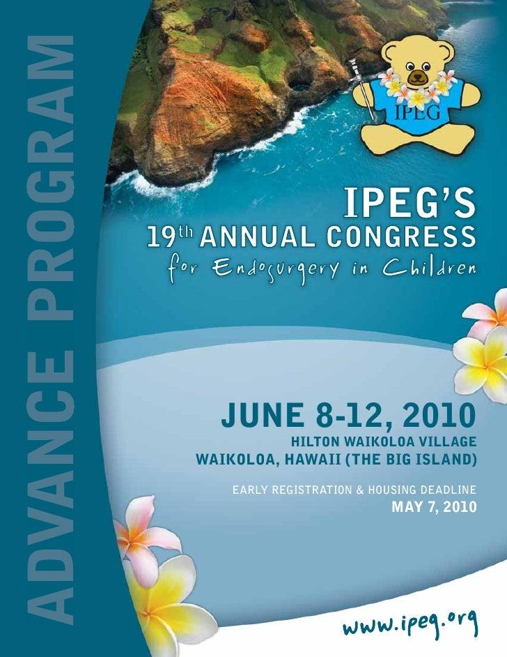 IPEG- Program2010