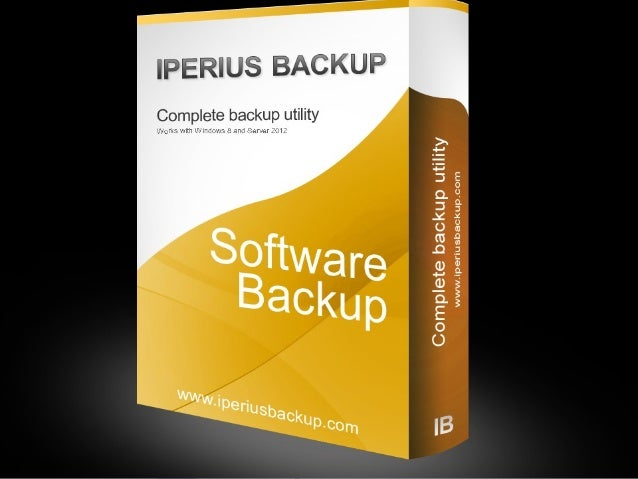 Iperius Backup software Backup free