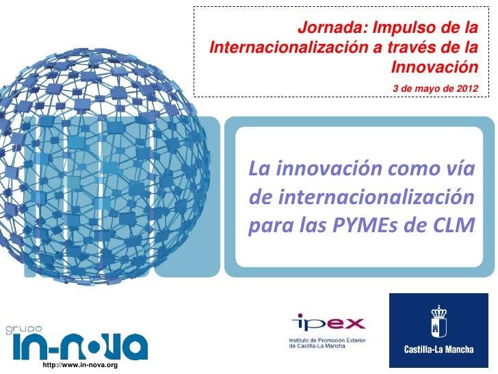 La innovación como vía de internacionalizacion