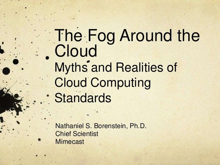 The Fog Around the Cloud- Nathaniel Borenstein