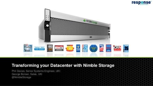 IP Expo 2012 Storage Lab Presentation - Nimble Storage