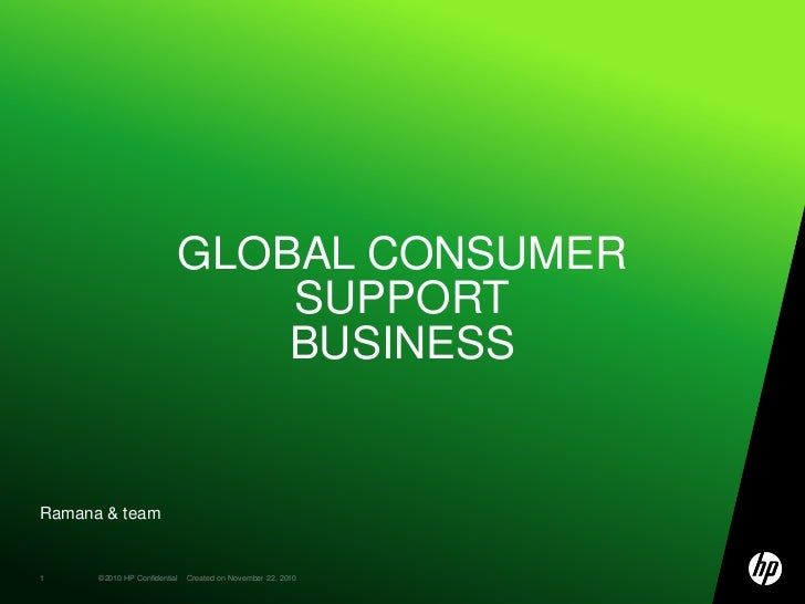 Ramana & team<br />Global Consumer SupportBusiness <br />