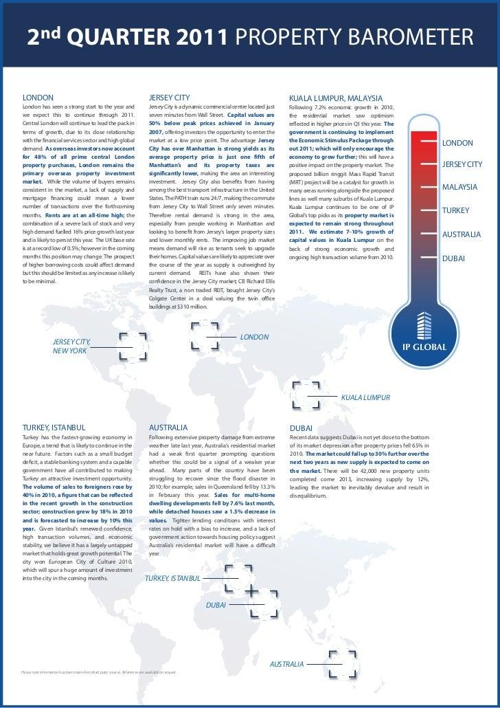 IP Global Property Barometer (Q2 2011)