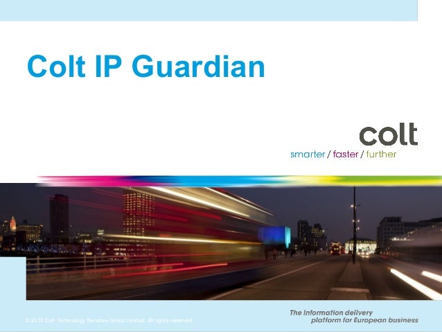 Ip Guardian customer presentation