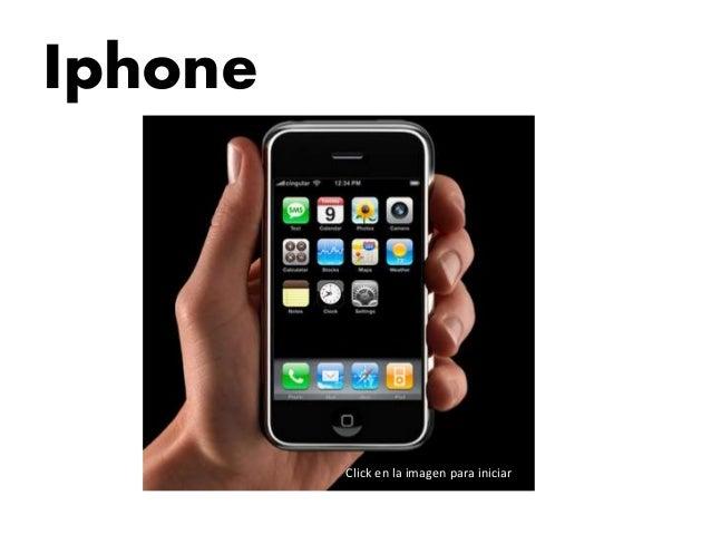Iphone Click en la imagen para iniciar