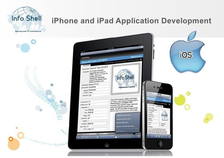 iPhone and iPad Application Developmentadvanced IT-solutions