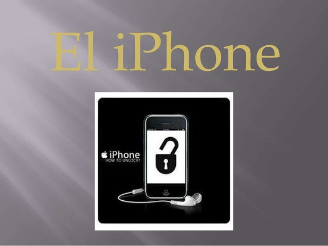 El iPhone