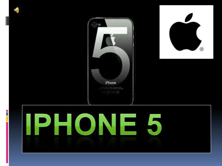  El iPhone 5 es un smartphone desarrollado por Apple Inc. Fue presentado como la sexta generación de iPhone el 12 de sept...