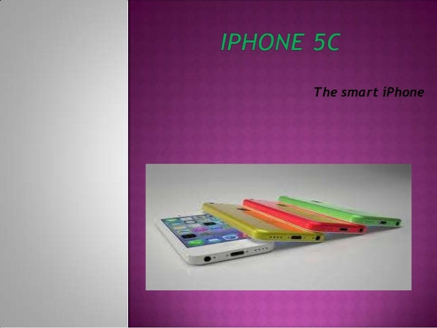 The smart iPhone