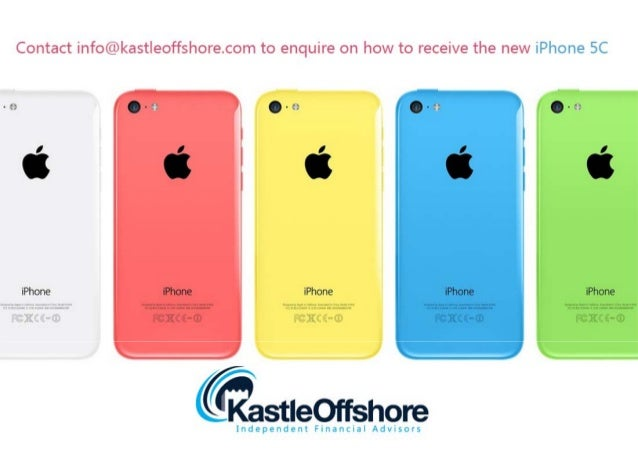 Kastle Offshore: iPhone 5C Special Offer