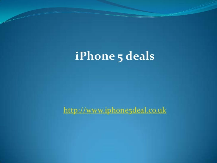 Get Exiting offers with new  iPhone 5