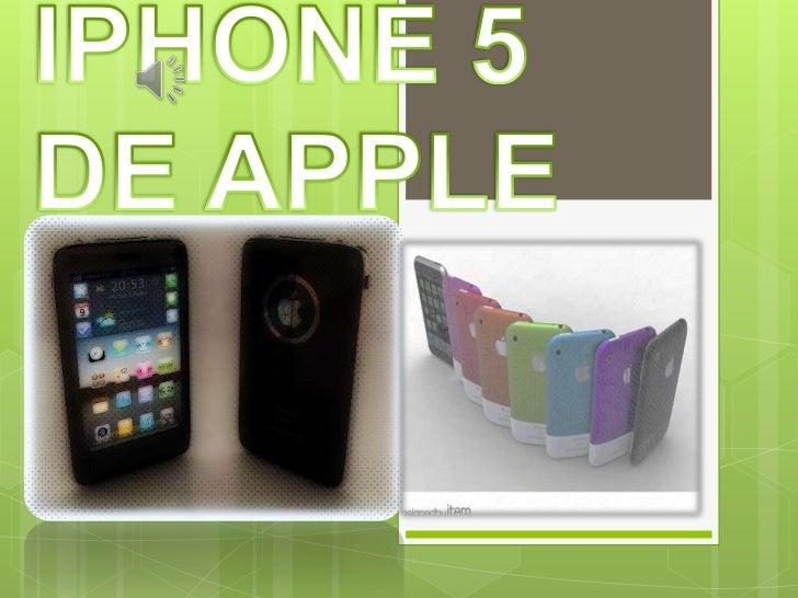 El iPhone 5 es mucho más fino yligero, y aun así tiene una pantallamás grande, un chip más rápido