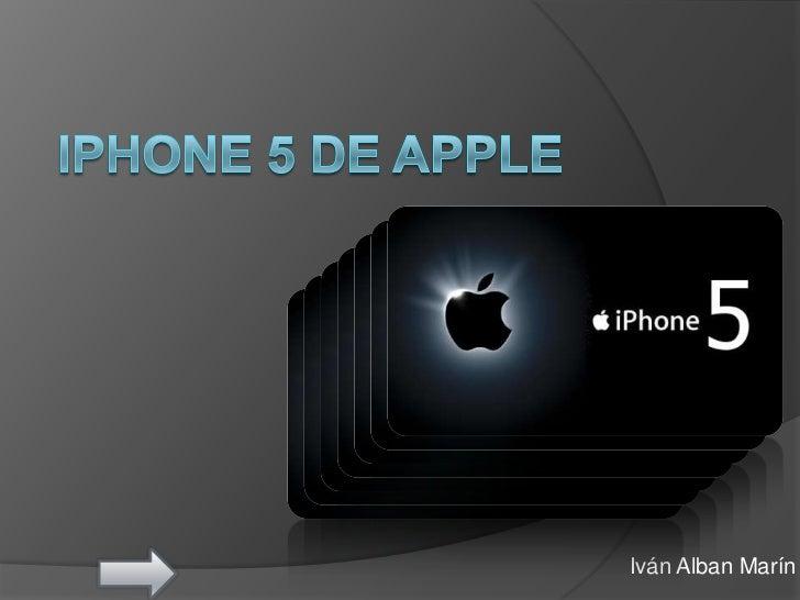Iphone 5 de apple