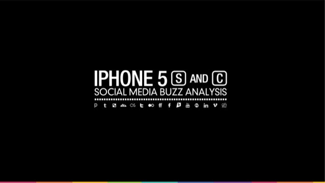 iPhone 5s and 5c - Social Media Buzz
