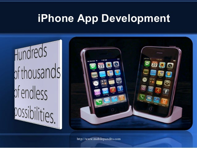 iPhone App Development http://www.mobilepundits.com