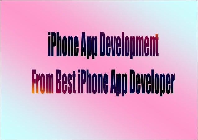 I phone app_development_from_best_iphone_app_developer