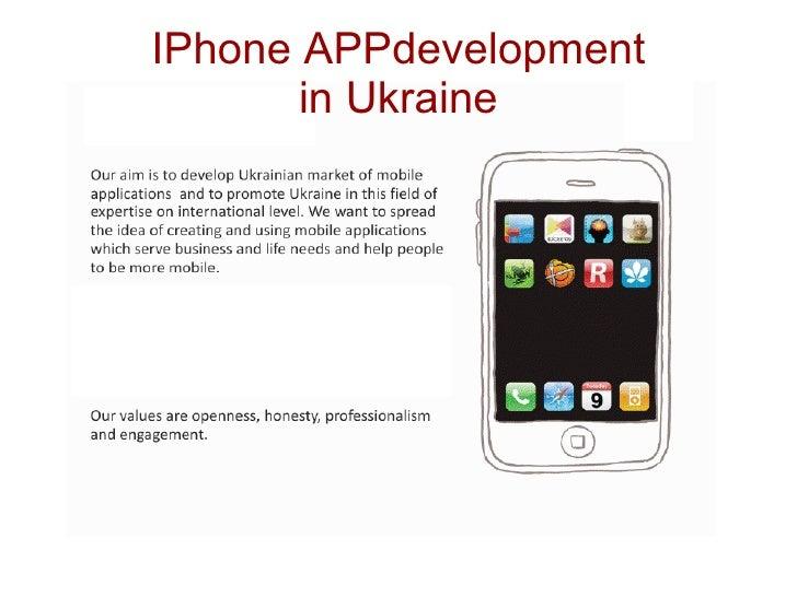 iPhone App development In Ukraine