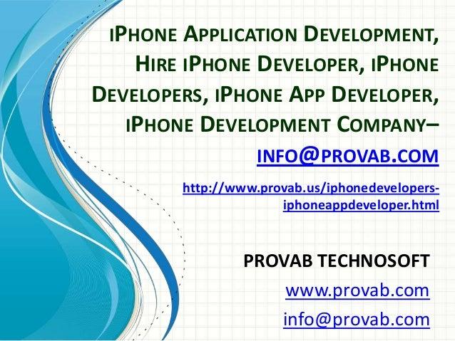 iPhone Application Development Hire iPhone Developer iPhone Developers iPhone APP Developer iPhone Development Company