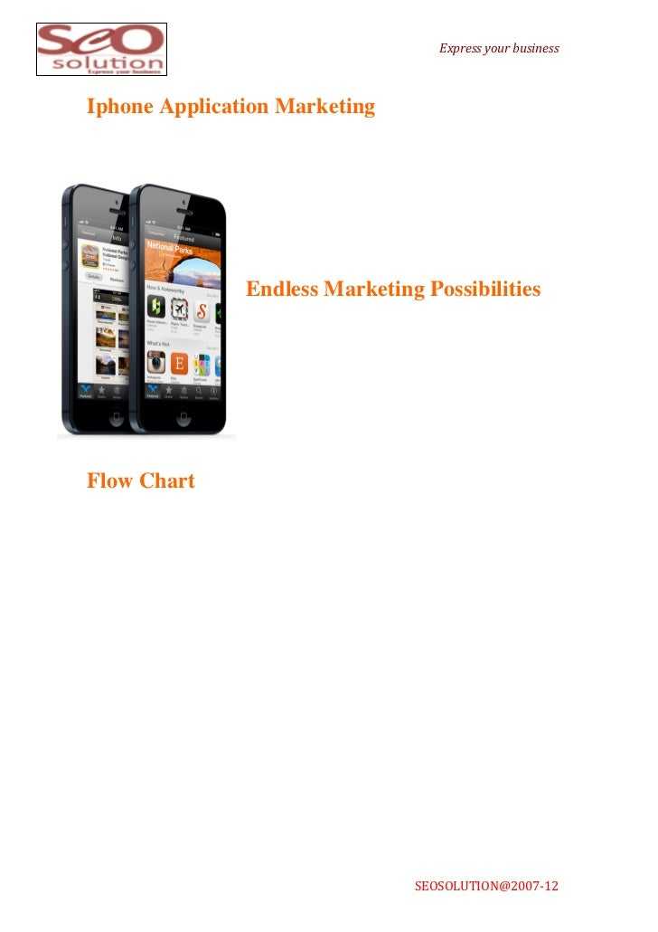 Express your business Iphone Application Marketing                ...