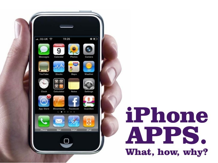 Iphone apps what how why for Apps ideas for iphone