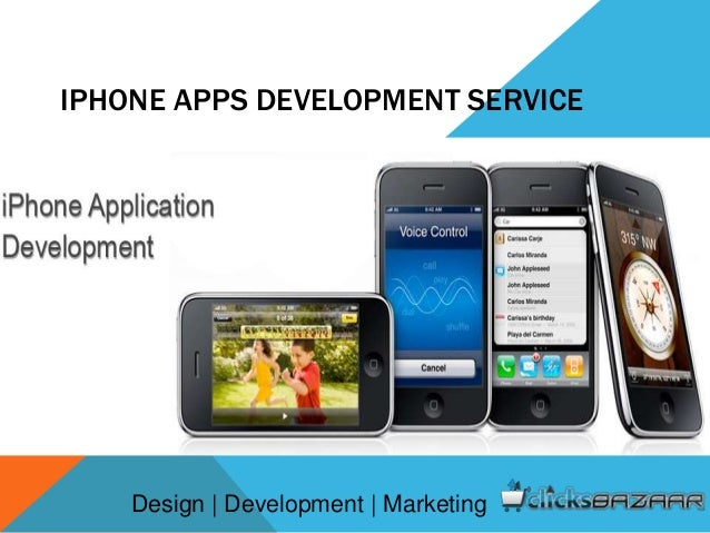 IPHONE APPS DEVELOPMENT SERVICE Design | Development | Marketing