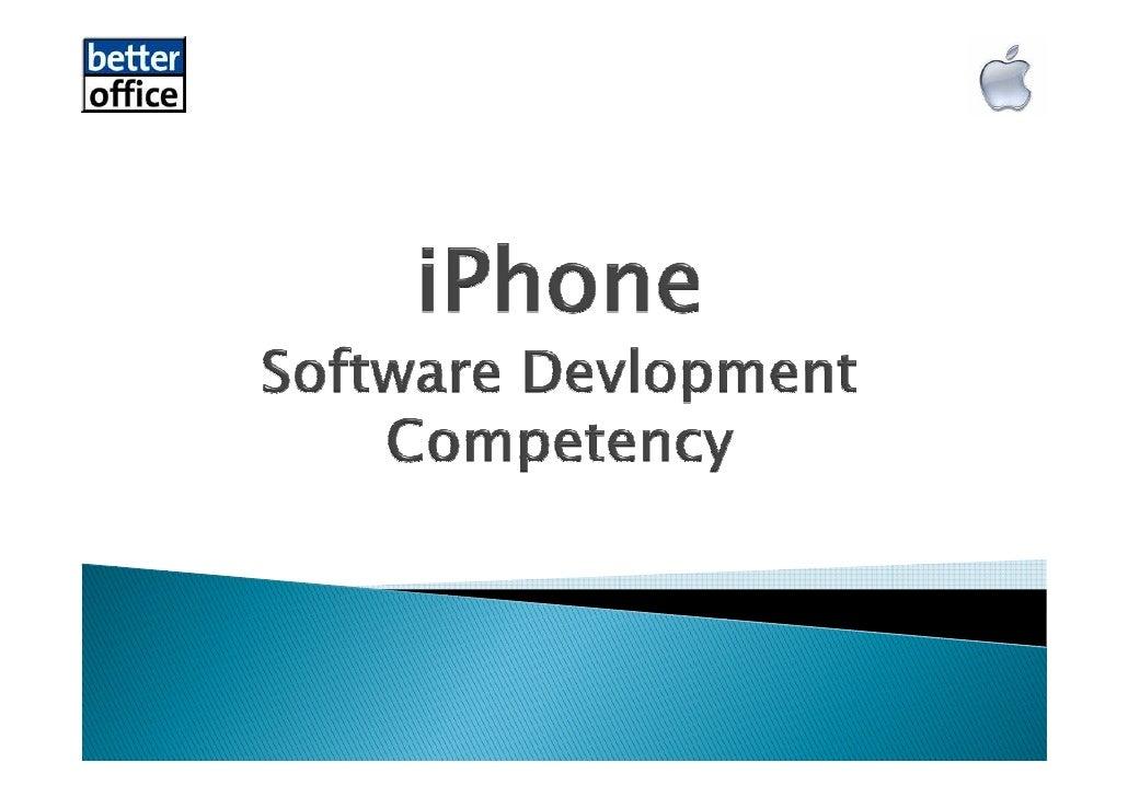 I Phone Better Office Software Entwicklung Kompetenz