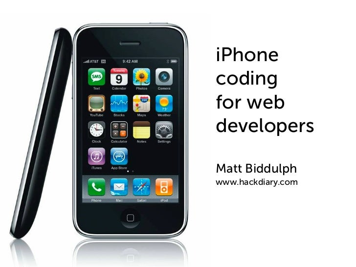 iPhone Coding For Web Developers