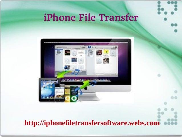 iPhoneFileTransferhttp://iphonefiletransfersoftware.webs.com