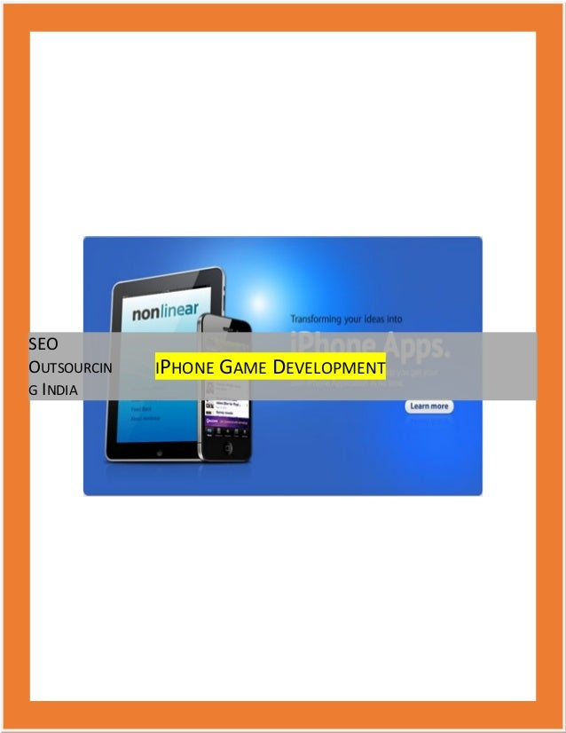 iPhone Games Development, iPhone Game Development Company, iPhone Game Programmer, Developers