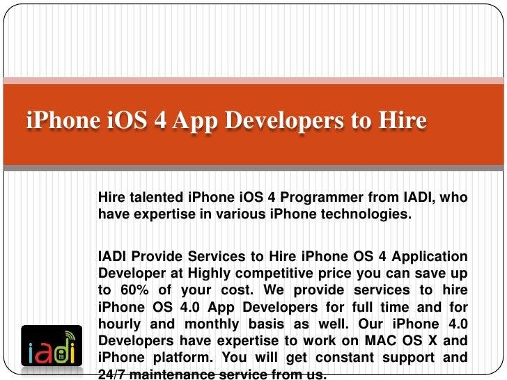 IPhone 4 Application Development,IPhone 4 Apps Developer for Hire,IPhone 4G Application Development Company