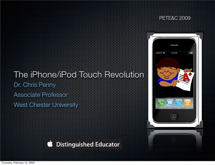 The iPhone/iPod Touch Revolution