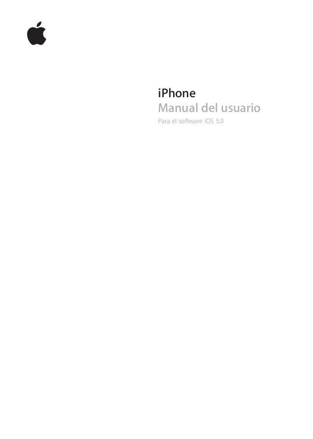 iPhoneManual del usuarioPara el software iOS 5.0
