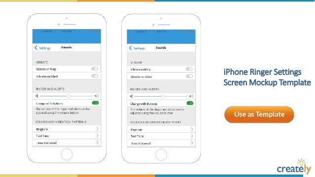 iPhone Mockup Templates by Creately