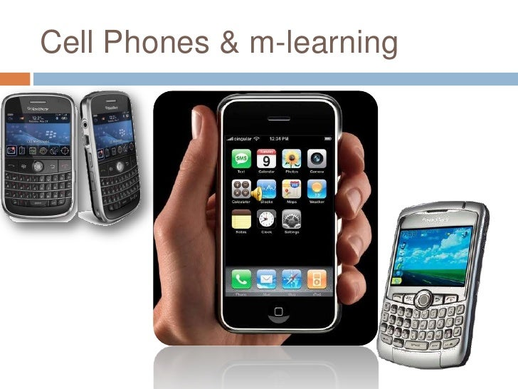 Cell Phones & m-learning<br />