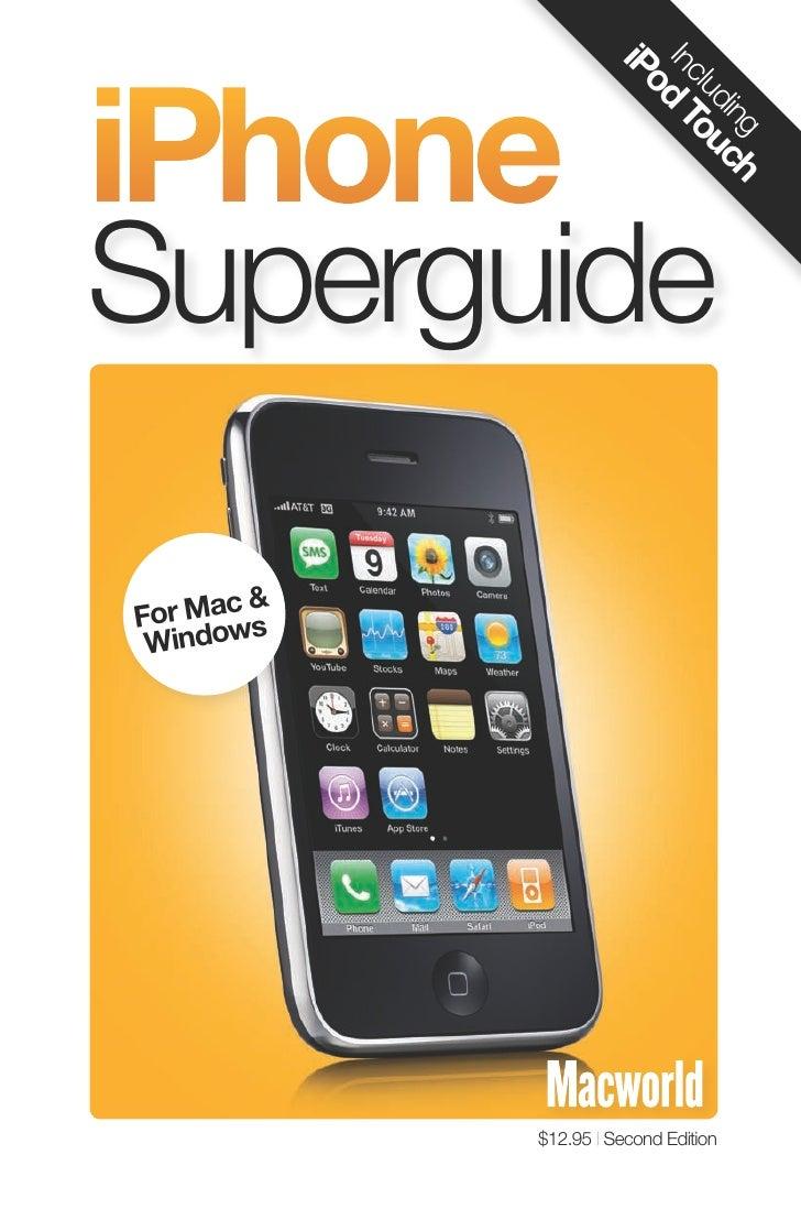 I phone+superguide