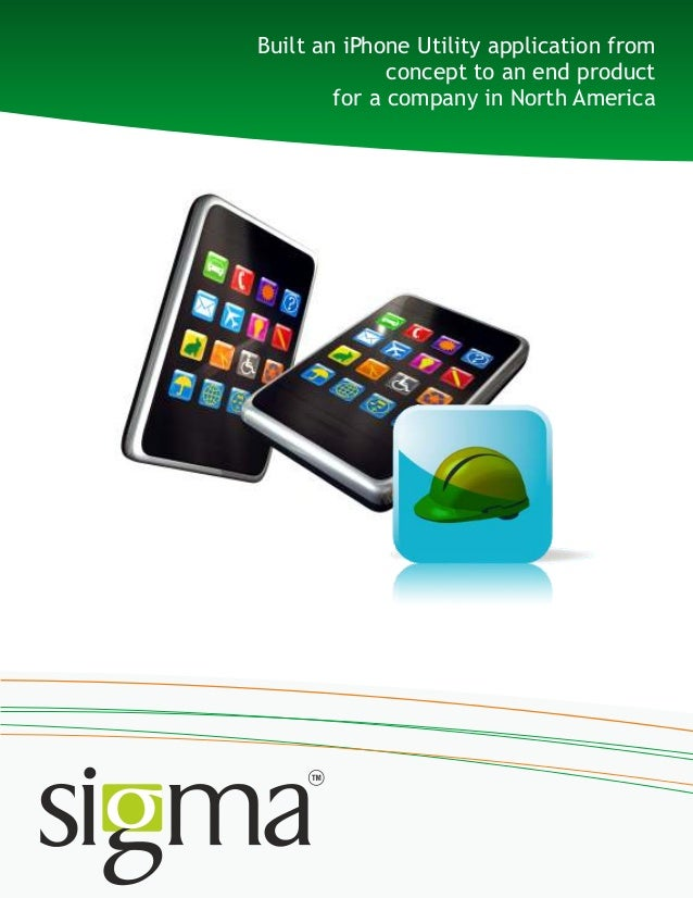 Iphone Utility Application Development_sigma infosolutions