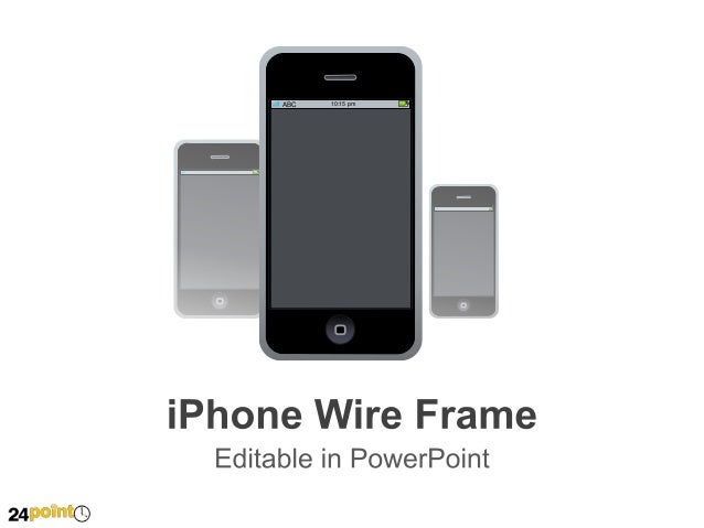 I Phone Wire Frame