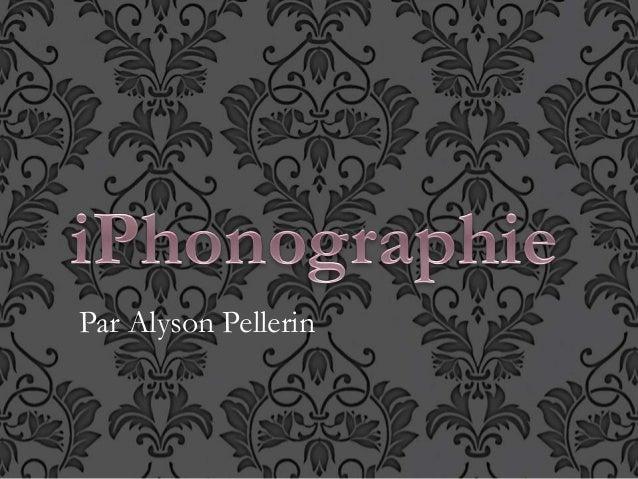 Par Alyson Pellerin