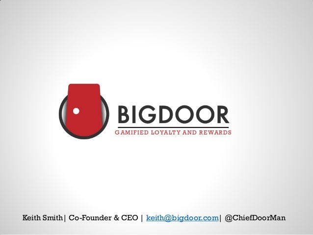 iPitch @ iStrategy Miami - Keith Smith w/BigDoor