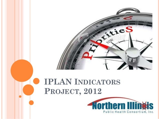 IPLAN INDICATORSPROJECT, 2012