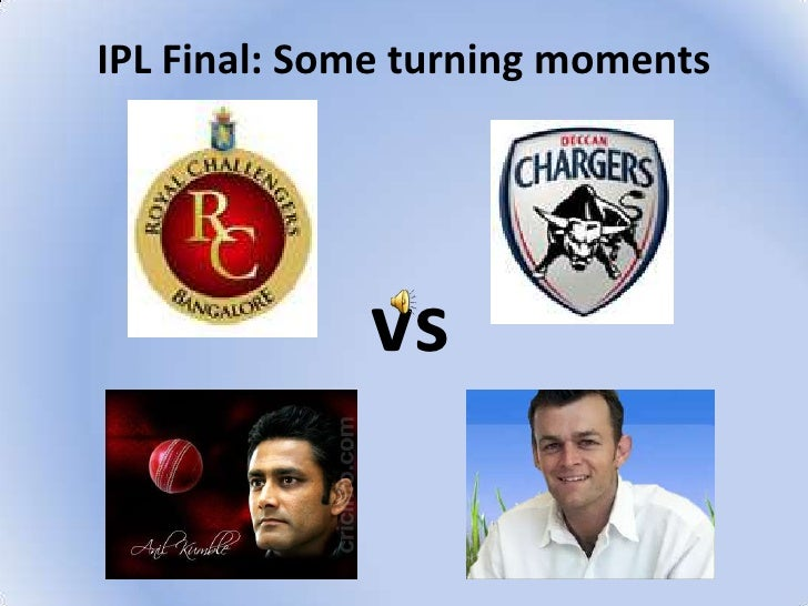 IPL Final: Some turning moments<br />vs<br />