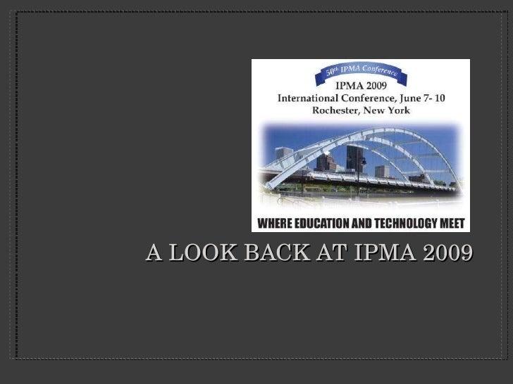 IPMA 2009