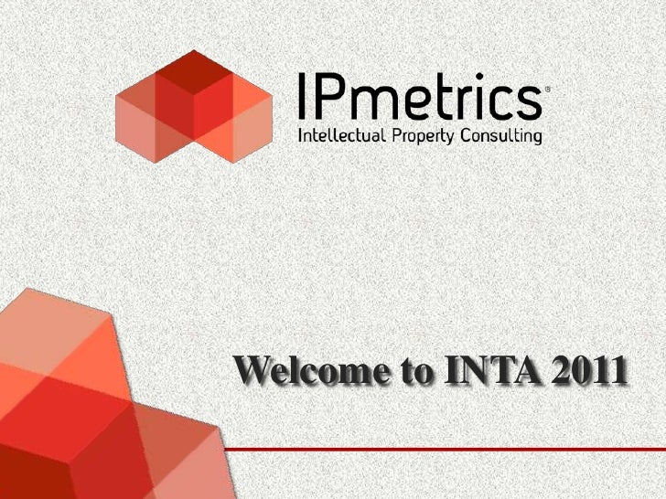Welcome to INTA 2011<br />