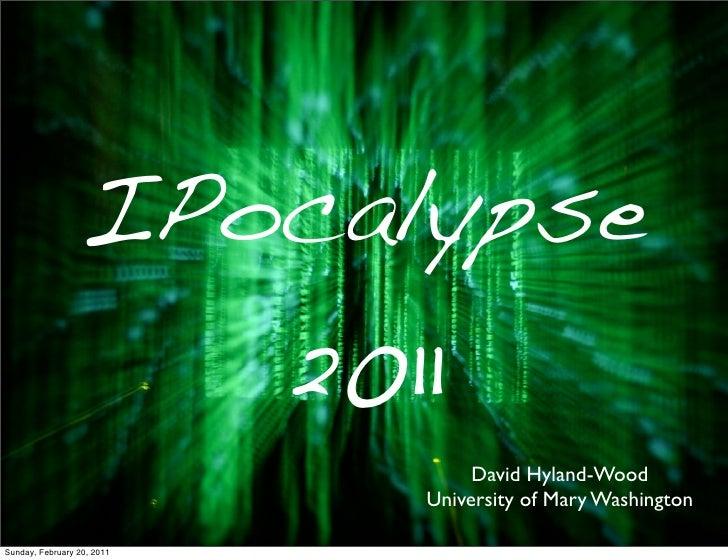 IPocalypse