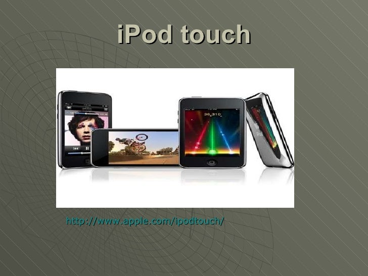 iPod Touch, how could our users interact with our catalogue and ebooks